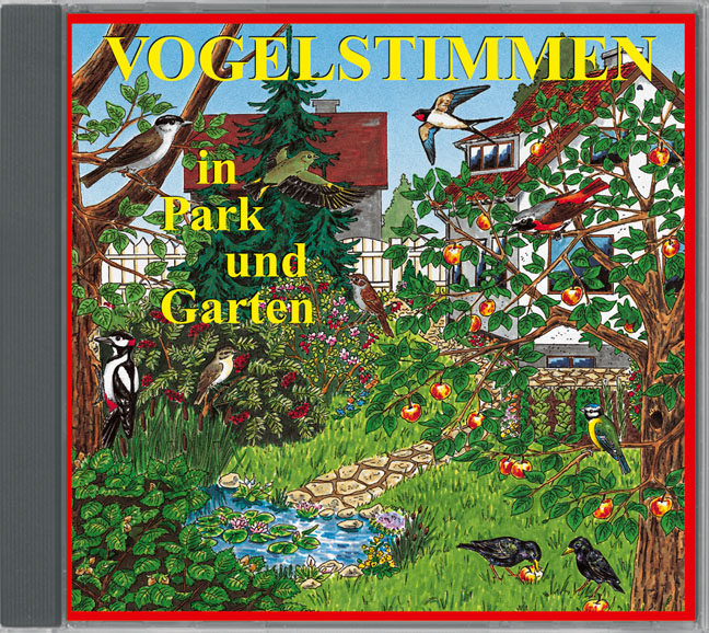 vogelstimmen in park und garten mit ton bild text vogelstimmen tierstimmen naturger usche. Black Bedroom Furniture Sets. Home Design Ideas