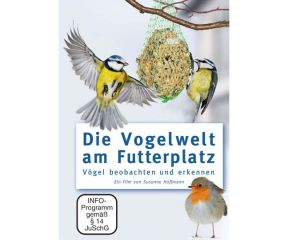 Die Vogelwelt am Futterplatz * DVD-Video